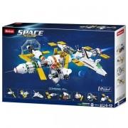 Blocos de Montar Astronautas Estaçao Espacial 512 Peças Multikids BR1032