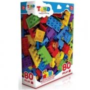 Blocos de Montar TAND KIDS 80 Peças Toyster 2296