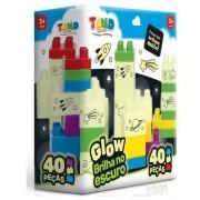 Blocos de Montar TAND KIDS GLOW 40 Pecas Toyster 2599