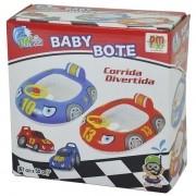 Boia Infantil BABY Bote Corrida Divertida Vermelha DM TOYS DMS5416