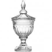 Bomboniere Classica com PE em Cristal Ecologico 14X37CM Transparente L Hermitage 57526