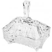Bomboniere de Cristal Megan com Tampa 19X14,5X21,5 LYOR 3982