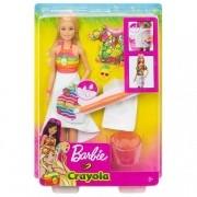 Boneca Barbie Crayola Barbie Super Frutas Mattel GBK18