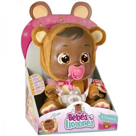 Boneca CRY Babies Bonnie Negra Multikids BR763