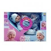 Boneca Diver NEW BORN Soninho Menino Divertoys 8072
