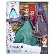 Boneca Frozen 2 Penteado Instantaneo Rainha ANNA Hasbro E7895 14923
