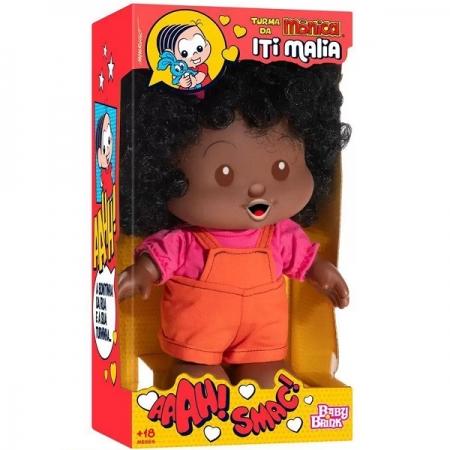 Boneca Milena Turma Monica ITI Malia BABY BRINK 1039