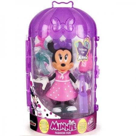 Boneca Minnie Fashion DOLL Fashion FUN Multikids BR1124