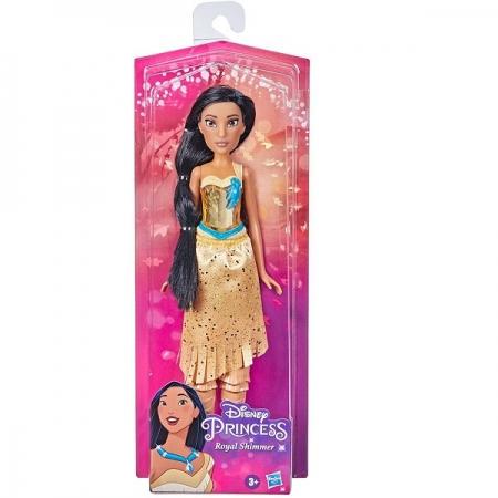 Boneca Princesas Royal Shimmer Pocahontas F0904 15752