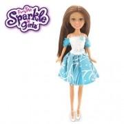 Boneca Sparkle GIRLZ Princesa STAR Cone Cabelo Castanho DTC 4752