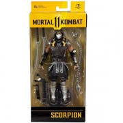 Boneco Articulado Mortal Kombat Mcfarlane Scorpion FUN F0053-0