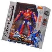 Boneco Coleçao Robot Warriors Vermelho Zoop TOYS ZP00171