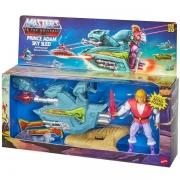 Boneco e Veiculo Masters OF THE Universe Principe ADAM e JET SLED Mattel GPP30