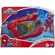 Boneco e Veiculo Super Hero Adventure Homem ARANHA Hasbro E6223 14966