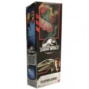 Boneco Jurassic WORLD Dilophosaurus Mattel FMY87