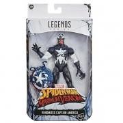 Boneco Marvel Venom Capitao America Hasbro E8894 15089