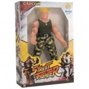 Boneco Street Fighter 30CM Guile ANJO Brinquedos 9069