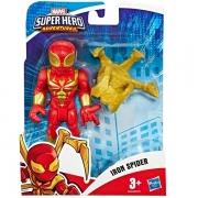 Boneco Super Hero Adventure ARANHA de Ferro Hasbro E6224 15903