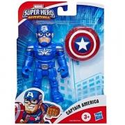 Boneco Super Hero Adventure Capitao America Hasbro E6224 15903