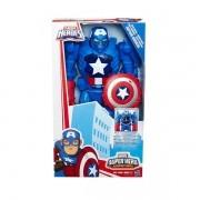 Boneco Super Hero Adventures Captao America Hasbro B6016 11536