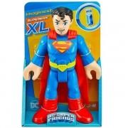 Boneco Super MAN Imaginext DC Super Friends XL Mattel GPT41