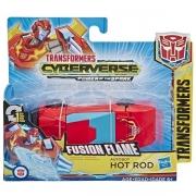 Boneco Transformers Cyberverse Hotrod Hasbro E3522 13230