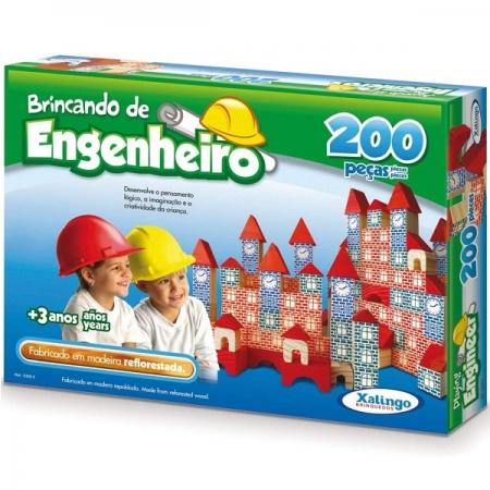 Brincando de Engenheiro 200 Pecas Xalingo 5306.5
