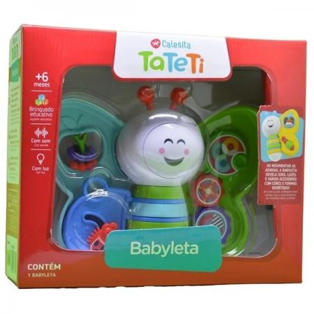 Brinquedo Didatico Babyleta AZUL/VERDE Calesita 897
