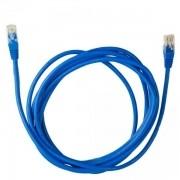 Cabo de Rede CAT.5E 2.5M PC-ETHU25BL AZUL PATCH CORD PLUS Cable