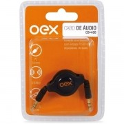 Cabo Retratil de Audio 80CM OEX CB400