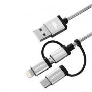 Cabo USB 3X1 C3 TECH CB-3000GY