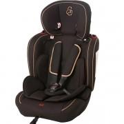 Cadeira para Auto 09 a 36KG DRC Ravi Preto Camel Galzerano 8007PTC