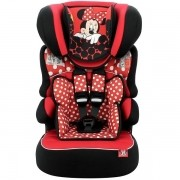 Cadeira para Automovel 09 a 36 KG Disney Beline Luxe Minnie RED Team TEX 588804