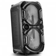 Caixa Ativa Plastica FRAHM Torre TF600 Bluetooth USB 600W RMS 31626