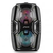 Caixa Ativa Plastica FRAHM Torre TF200 BT 200W Bluetooth USB 31611