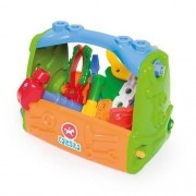 Caixa de Ferramentas Verde Calesita 0453