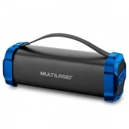 Caixa de Som Bazooka Bluetooth 50W BT/AUX/USB/FM Multilaser SP350