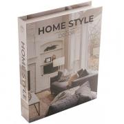 Caixa Livro Decorativa Papel Rigido Home STYLE 30X24X5CM Royal 61271