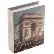 Caixa Livro Papel Rigido ARCO do Triunfo 20X16X5CM Royal 61287