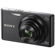 Camera Digital SONY DSC-W830 20.1MP CYBER-SHOT 8X Zoom Preta