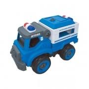 Caminhao de Transporte Policial CITY Machine Multikids BR1084