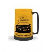 Caneca CHOPP GEL Plastico GM Camaro Amarelo 450ML URBAN 44239