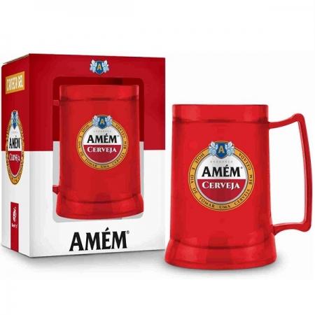Caneca GEL 300ML AMEM Cerveja Brasfoot 2959