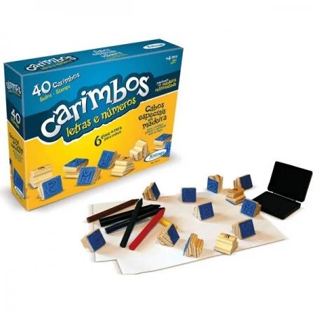 Carimbos Letras e Numeros Xalingo 5091.0