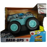 Carrinho HOT Wheels Monster TRUCK BASH-UPS 32 Degrees Mattel GCF94