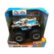 Carrinho HOT Wheels Monster TRUCK BASH-UPS Invader Mattel GCF94