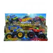 Carrinho HOT Wheels Monster TRUCK Monster Portion X Tuong OT Sriracha Mattel FYJ64