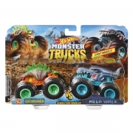 Carrinho HOT Wheels Monster TRUCK Motosaurus X Mega UREX Mattel FYJ64
