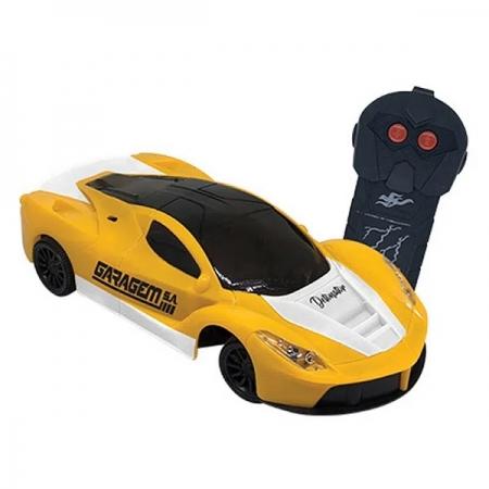 Carro Controle Remoto Detonator Amarelo Candide 3548