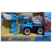 Carro Controle Remoto Jovem Mecanico RC Tooling Caçamba Candide 3554